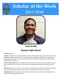 """NCSS on Twitter: """"Congratulations to @Newton_High senior, Louis ..."""