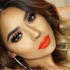 lovely face makeup idea