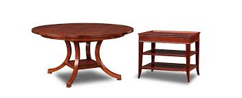 stickley tables dining room living