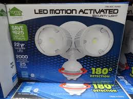 Costco Led Can Lights Led Motion Activated Security Light Costco Led Outdoor