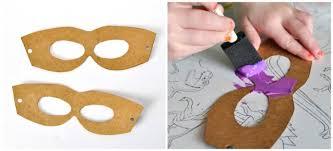 Cardboard Masks To Decorate DIY Cardboard Superhero Masks I Heart Crafty Things 20