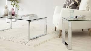 modern glass coffee table set