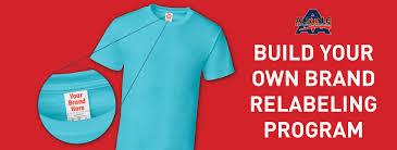 relabeling program build your own brand alstyle® usa build your own brand alstyle t shirt relabeling program