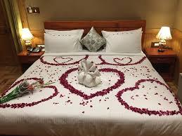 ShivAdya Resort U0026 Spa: Honeymoon Set Up Of Luxury Room For A Newly Married  Couple