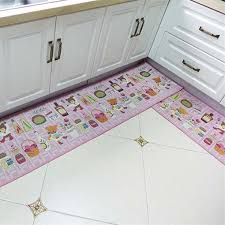 4 diffe sizes lovely pink bear kitchen rug home