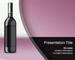 Wine Powerpoint Template Wine Spectator Powerpoint Template