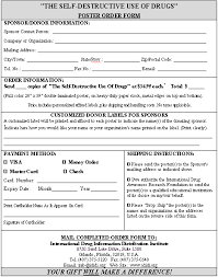 Sample Of Order Form Template Order Form Sample Template Format For A Typical Return By Mail