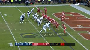 Chargers Beat Chiefs On 2 Point Conversion Thursday Night December 13 2018