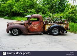 1937 dodge rat rod pickup truck stock photo royalty free image