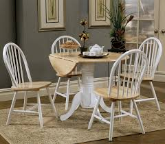 round wood dining table and chairs ideal drop leaf dining table set cole papers design