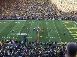 Michigan Stadium Section 21 Home Of Michigan Wolverines