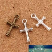 2020 nail cross charms pendants antique