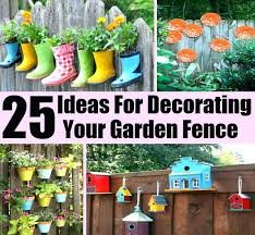 chain link fence decorating ideas fence decor idea best ideas for decorative garden fence garden fence