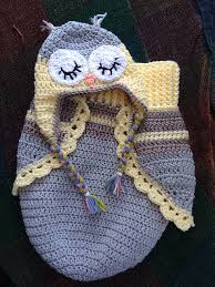 Free Owl Cocoon Crochet Pattern Adorable Crochet Cute Baby Owl Cocoon With Pattern