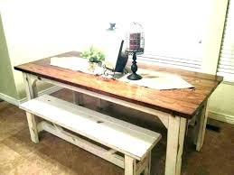 farmhouse kitchen table diy full size of corner kitchen table bench with storage plans new farmhouse