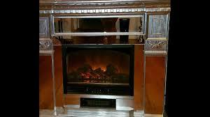 glass fire place diy