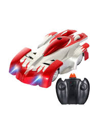 Radio Controlled Led Lights Shop Generic Wall Rc Climbing Racing Car Sport Climber With Led Lights Red Online In Dubai Abu Dhabi And All Uae
