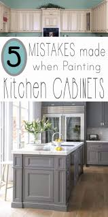 how to paint kitchen cabinets white with a sprayer awesome mistakes people make when painting kitchen