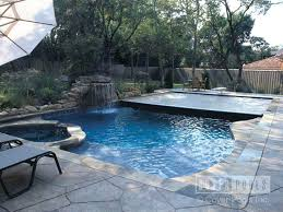 automatic inground swimming pool covers cover pools best images on