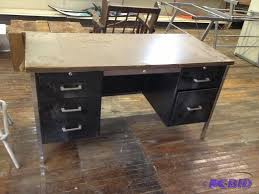 metal office desks. vintage metal office desk brilliant steel teacher student school desks a