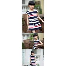 <b>Платье</b> AliExpress Summer <b>school girl</b> striped dress family ...