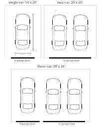 Commercial Garage Door Size Chart Garage Door Size Chart Mybalance Me