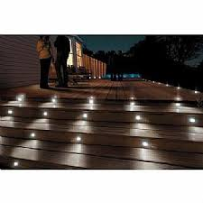 in ground lighting. Solar Powered Deck / In-Ground Lighting Kit RGB In Ground Lighting