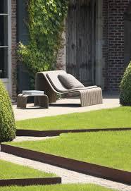 100 Ideen Zur Gartengestaltung Modernes Design F R Den Au Enbereich Gartengestaltung Kies Vorgarten Hanglage Cortenstahl Beeteinfassung