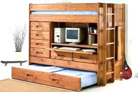 loft bed with desk and dresser. Brilliant Dresser Loft Bed With Desk And Drawers All In One Dresser Trundle   In Loft Bed With Desk And Dresser T