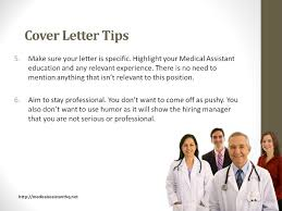 cover letters for medical assistants medical assistant cover letter with no experience