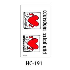 099 1ks Nový Design Módní Krásné Srdce Dočasná Tetování Samolepky Dočasné Body Art Vodotěsný Tetování Vzor