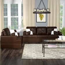 Brown sofa sets Traditional Wamsutter Piece Living Room Set Bharat Lifestyles Living Room Sets Youll Love Wayfair