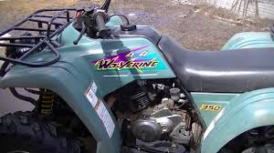 1995 yamaha wolverine 350 review