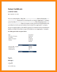 Image Result For Salary Certificate Sample Letter Pdf Yon Youet In