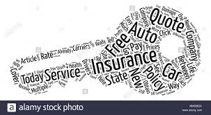 compare your auto insurance quote between multiple carriers in your state word cloud concept text background