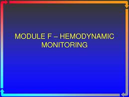 Ppt Module F Hemodynamic Monitoring Powerpoint Presentation Id