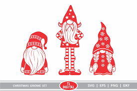 ✓ free for commercial use ✓ high quality images. Christmas Gnomes Set Of 3 Graphic By Tl Digital Creative Fabrica In 2020 Christmas Gnome Christmas Svg Files Christmas Svg