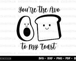 Bacon tomato avocado toast, caprese avocado toast, fried egg avocado toast, sea salt chili avocado toast — 4 ways. Avocado Toast Svg Etsy