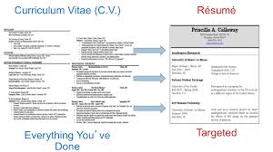 Is A Curriculum Vitae The Same As A Resume Sample Cv Format Word