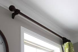 winsome wooden curtain rods home depot brackets in