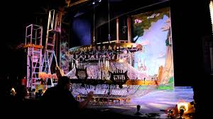 woodland hills high school phantom of the opera chandelier