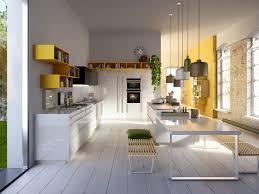 White Gloss Kitchen Designs Kitchen Italian Kitchens Design From Snaidero Features Yellow