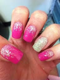 Gel Nail Designs With Diamonds Fashion Pink Nail Art With Diamonds Captivating 6 Amazing