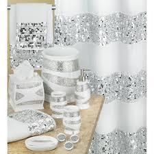 white shower curtain bathroom. Popular Bath Sinatra White Shower Curtain And Accessories | Altmeyer\u0027s BedBathHome Bathroom \