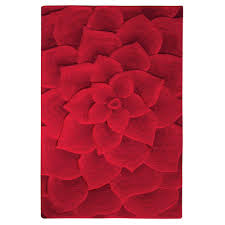 home decorators collection corolla red 8 ft x 11 ft area rug