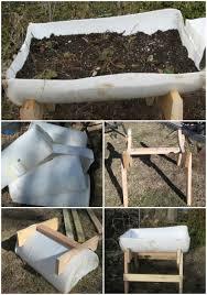make raised garden with food grade barrels