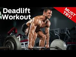 deadlift strength workout build size strength in one workout