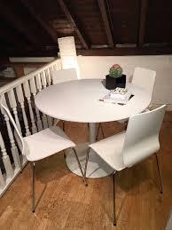 ikea round dining room table docksta table ikea knock off