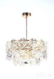 gold light pendant geometric small