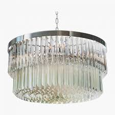 ... Large Size of Chandeliers Design:magnificent Endearing Silver Mist  Hanging Crystal Drum Shade Chandelier By ...